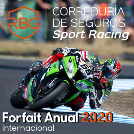 Forfait Annual Internacional 2020 Online
